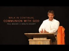 ▶ Walk in Continual Communion with God - Paul Washer - YouTube