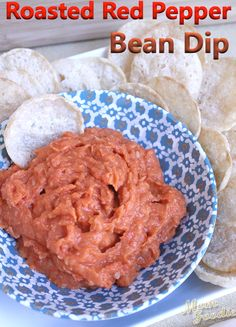 Red Pepper Bean Dip