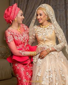 I wanted to use the word beautiful but then I figured it would be an understatement .. The bride Sadiya and her sister Maryam in a candid moment .. #GeorgeOkoroWeddings #LuxuryEdition #Abuja  Brides MUA @mamzabeauty  Assisted by @stevechuksfotografie and Joseph Isaac
