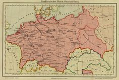 Germany in Alternate history map in case of a German victory during World . - Germany in Alternate history map in case of a German victory during World War - Welthauptstadt Germania, Imaginary Maps, Alternate History, Alternate Worlds, Fantasy Map, Old Maps, Historical Maps, History Museum, Logo Nasa