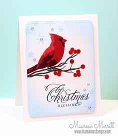 Classic Christmas Cardinal
