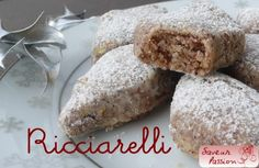 Tour d'Europe des biscuits de l'Avent : les ricciarelli de Sienne (Italie)