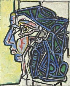 Pablo Picasso, Tête de femme