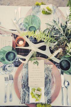 Earthy Organic Wedding Table
