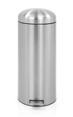 Brabantia 479366 Matte Steel Finger Print Proof Retro Pedal Bin, Sells for $176.
