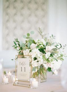 There's no doubt that flowers are always gorgeous for wedding bouquets. But having greenery wedding bouquets seem to be more unique and one of a kind. Besides, greenery wedding bouquets with… Long Table Wedding, Wedding Reception Table Decorations, Green Wedding, Wedding Reception Flowers, Flower Table Decorations, Fall Wedding, Wedding Table Settings, Wedding Venues, Flowers On Table