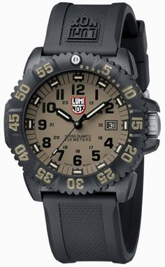 We are Authorized Luminox watch dealer, Call to place orders now-Luminox NAVY SEAL COLORMARK 3050 , Buy your Luminox watches from authorized dealer Diesel Watches For Men, Army Watches, Cool Watches, Breitling Watches, Navy Seals, Casio Watch, Zoro, Chronograph, Black Rubber