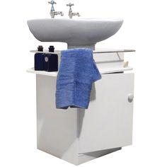 Creative Under Sink Storage Ideas Sink Shelf Wall Mounted Sink And Pedestal Sink
