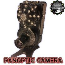 Panoptic Camera  This is the Paranologies Panoptic Camera(modular series)  copyright © 2011 Paranologies INTRODUCTORY PRICE! 5 AVAILABLE  650 TVL Infra-red camera. Fully adjustable Lens from 3.5-9.0 width, no more worrying about hallways or bedrooms. This camera will work for both! 24 led custom Paranologies IR Illuminator Built in. Paranologies custom Phono Pod Microphone Built in. Male Rca Jacks on top of the unit for use with your own dvr.(Mini Modular Dvr Coming soon for this unit).