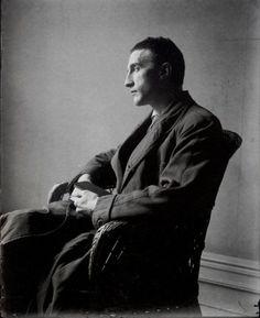"blumecaro: ""Marcel Duchamp by Man Ray. """