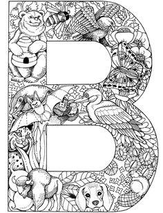 plant and animal alphabet 1
