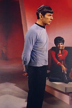 Star Trek Tos - Spock & Uhura