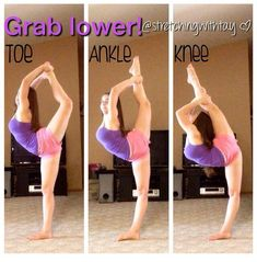 cheer workouts For a better scorpion. Cheer Stretches, Gymnastics Stretches, Gymnastics Tricks, Dance Stretches, Gymnastics Skills, Gymnastics Workout, Scorpion Stretches, Needle Stretches, Workout Exercises