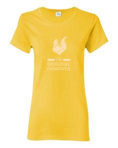 The Original Combover women's short sleeve TEE