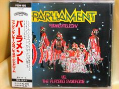 CD/Japan- PARLIAMENT Funkentelechy vs The Placebo Syndrome w/OBI RARE EARLY 1990