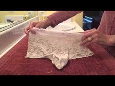 dyi Ostomy undies and wraps