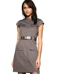 Военная платье