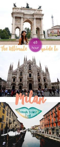My thoughts of Milan, Italy has always been of their Duomo and the fact that it's the renowned fashion capital of the world. I was a little sad to miss it on my Venice–Verona trip last April, so I decided this big city warrants more than just a day's visit, so I decided to pack my bags and head over there for a weekend 48 hour rendezvous.