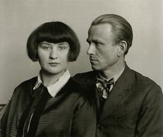 August Sander, The Painter Otto Dix and his Wife Martha, 1925