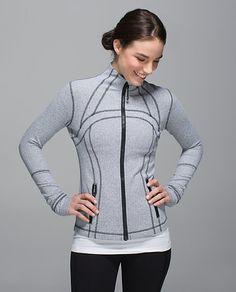 Define Jacket | Heathered Herringbone Heathered Black White