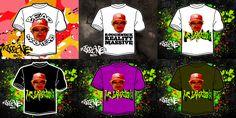"Création (T-Shirts Models, Planche) by JeeOne Prod. pour ""MC Jamalski"""