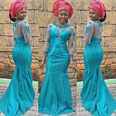 Check Out This Lovely Aso Ebi Style http://www.dezangozone.com/2016/06/check-out-this-lovely-aso-ebi-style.html