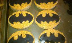 Batman rice krispie treats