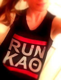 Running tank idea!   Kappa Alpha Theta #theta1870