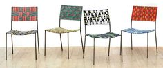 Franz West Uncle Chairs
