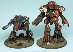 Agis Page of miniature painting and gaming - Adeptus Titanicus