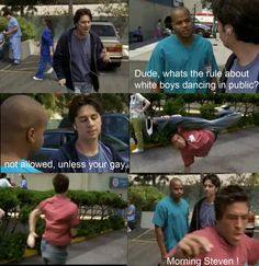 Scrubs. And the you're misspelling annoys me but I love the quote.