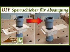 Sperrschieber für Absauganlage einfach und schnell selber bauen | DIY Absaugung für Werkstatt - YouTube