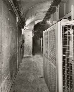 Post Office tunnel, 1959 This is the tunnel running from the main post office to Waterfront Station. It stopped being used only a short time...