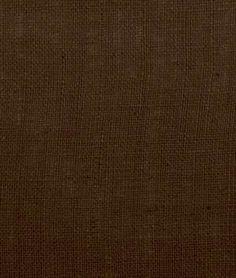 Dark Brown Burlap Fabric.