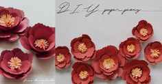 Hope you are all enjoying the Chinese New Year festivities with your loved ones! We really enjoyed making the paper peonies for our CNY greeting yesterday, so we thought we'd share with you t… Dyi Crafts, Creative Crafts, Arts And Crafts, Chinese New Year Decorations, New Years Decorations, Paper Peonies, Paper Flowers, Cny Greetings, Chinese Paper