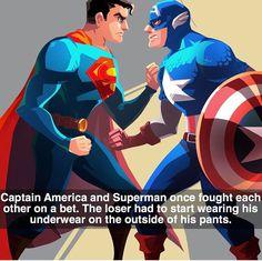 Captain America VS Superman lol
