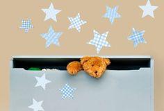 SET OF 11 STARS Vinyl Wall Art, Vinyls, Owl, Africa, Stars, Kids, Decor, Young Children, Boys