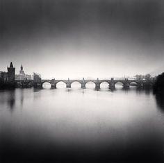 Charles Bridge, Study 9, Prague, Czech Republic, 2007 by Michael Kenna