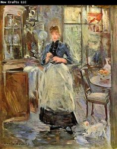 Berthe Morisot The Dining Room