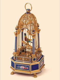 La Cote des Montres : Enchères The Nightingale. Attributed to Frères Rochat, Geneva, circa 1820,