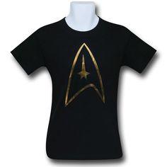 92511b970ecd Star Trek Foil Shield T-Shirt