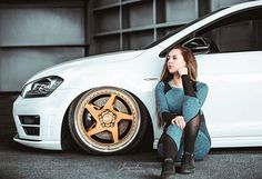 Car Poses, N Girls, Portrait Poses, Cars And Motorcycles, Volkswagen, Wrx Sti, Bike, Lady, Wheels