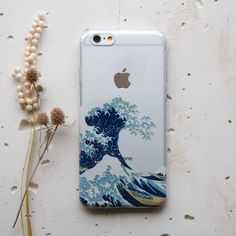 Great Wave off Kanawaga iPhone Case ★ Check out more iPhone Accessories & Gadgets at @prettywallpaper
