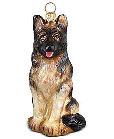 Joy to the World German Shepherd Pet Charity Ornament