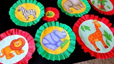 Wall Decors for Birthday Party - Jungle / Animal Theme