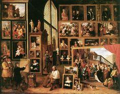 David Teniers (de Jonge) - De Galerij van Leopold in Brussel (1639)