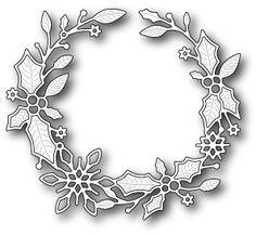 Christmas Wreath Craft Dies - 123Stitch.com