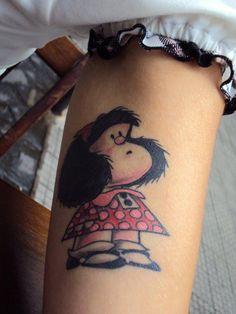 Mafalda tattoo