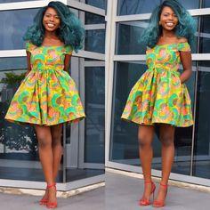 Vêtements africain Ankara robe Robe africaine par Shoplolaster