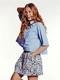 BSB Fashion's new spring summer 2014 collection is available now. Bell Sleeves, Bell Sleeve Top, Fashion Moda, Summer 2014, Spring Summer Fashion, Girly, Floral, Skirts, Collection